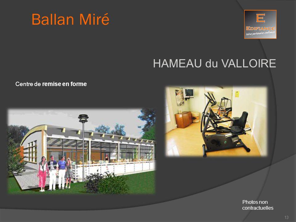 Ballan Miré HAMEAU du VALLOIRE Centre de remise en forme