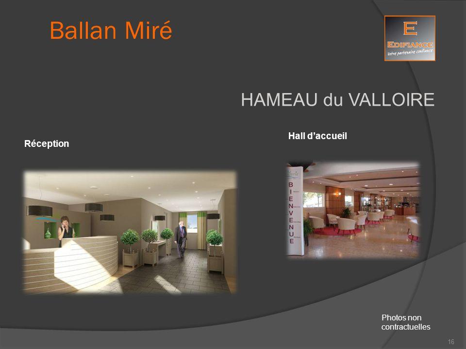 Ballan Miré HAMEAU du VALLOIRE Hall d'accueil Réception