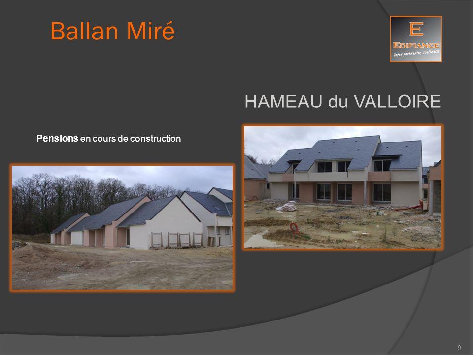 Ballan Miré HAMEAU du VALLOIRE Pensions en cours de construction