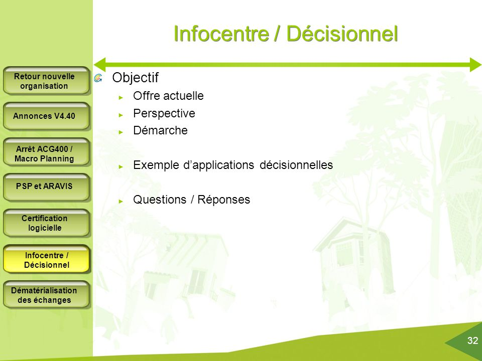 Infocentre / Décisionnel