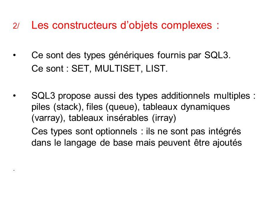 Ce sont des types génériques fournis par SQL3.