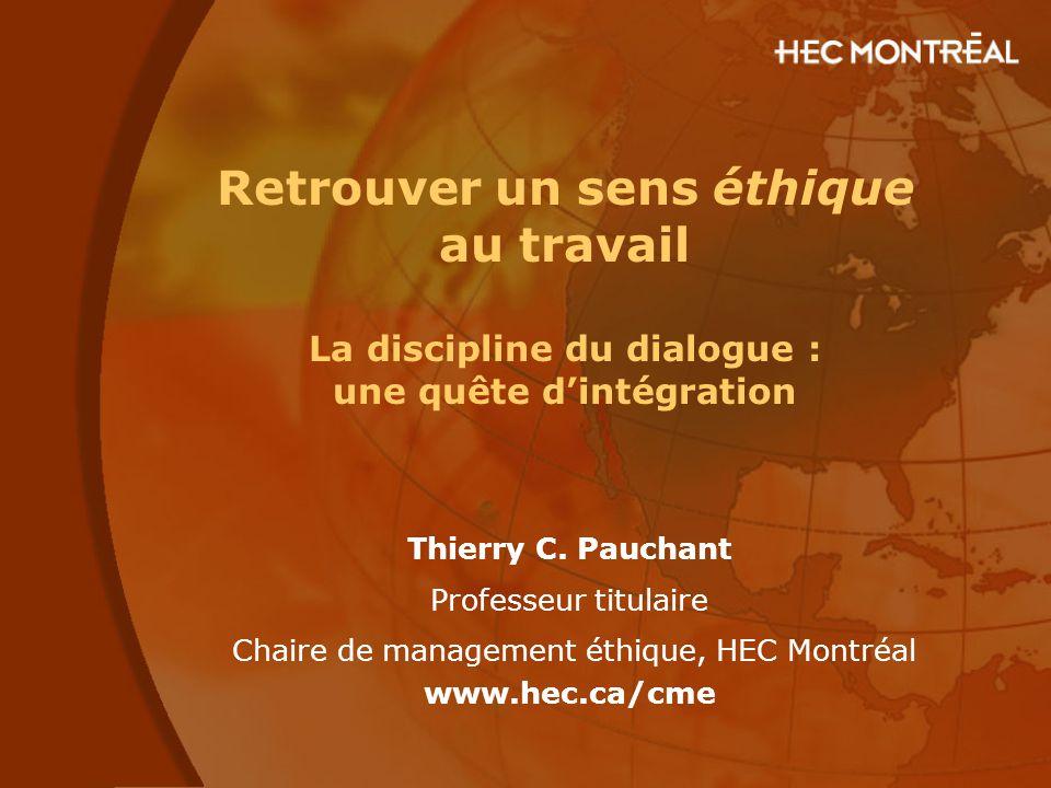 Chaire de management éthique, HEC Montréal