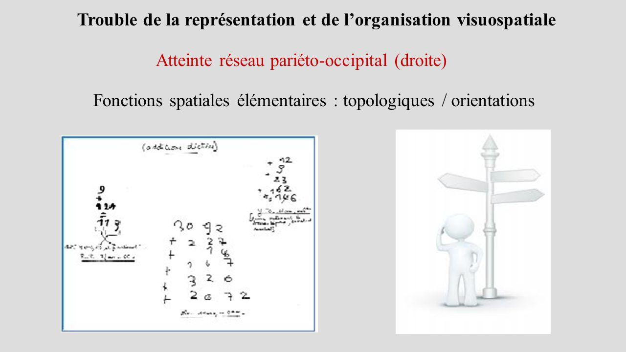 Fonctions spatiales élémentaires : topologiques / orientations