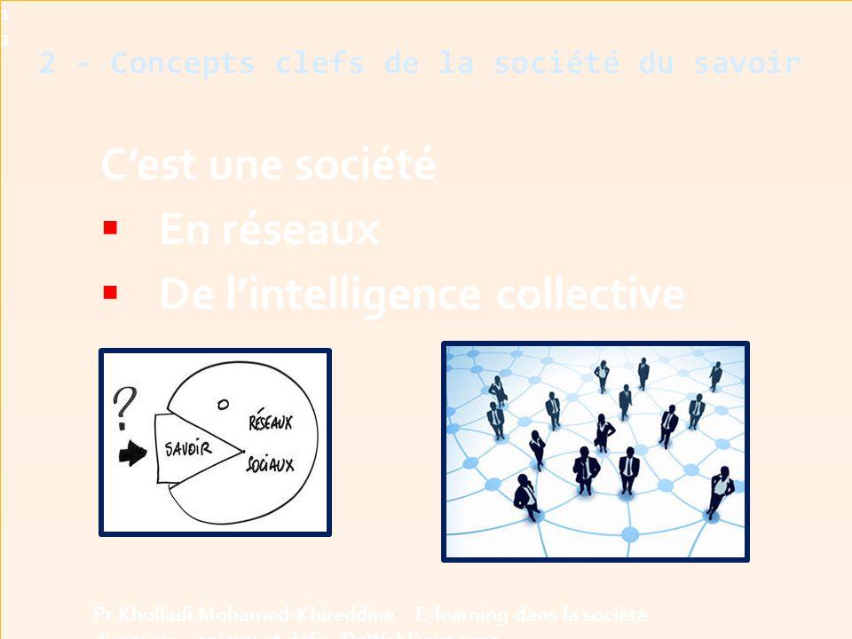 2 - Concepts clefs de la société du savoir