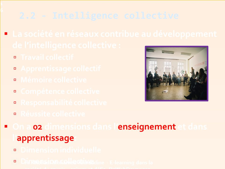 2.2 - Intelligence collective