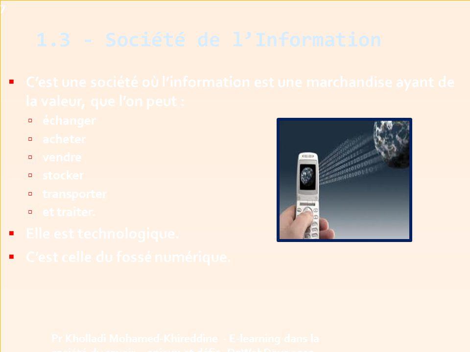 1.3 - Société de l'Information