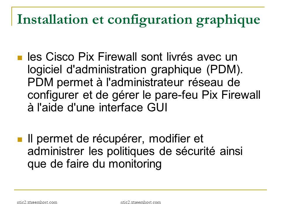 Installation et configuration graphique