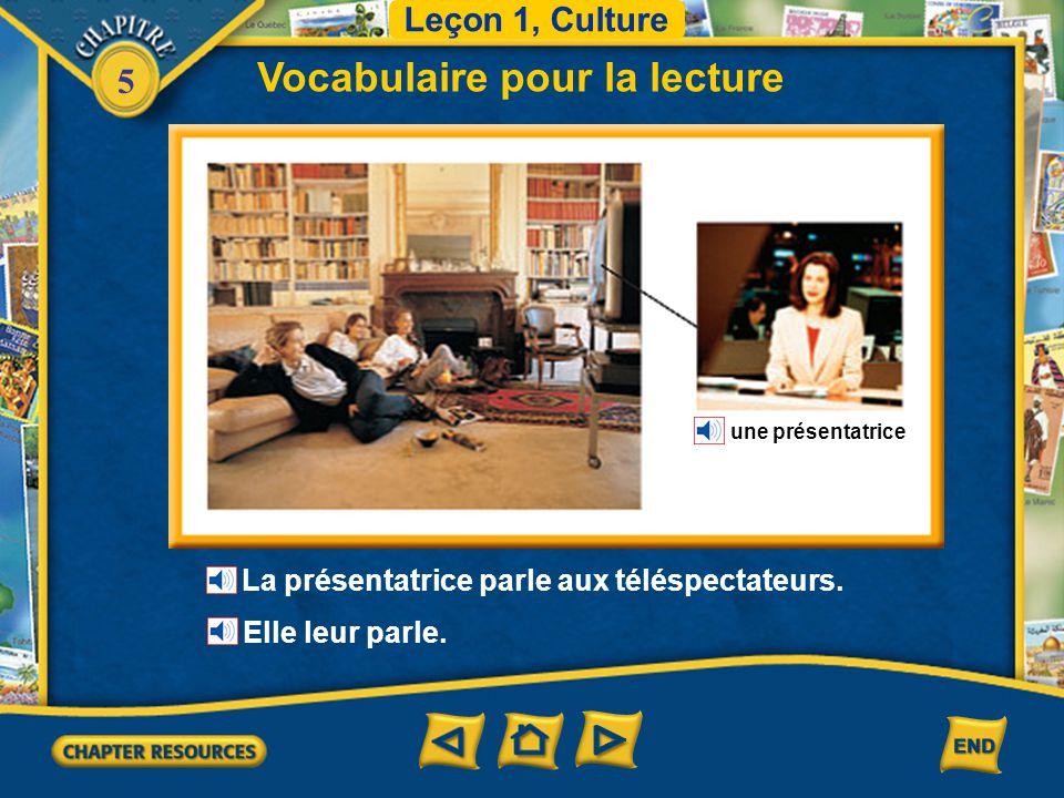 Vocabulaire pour la lecture