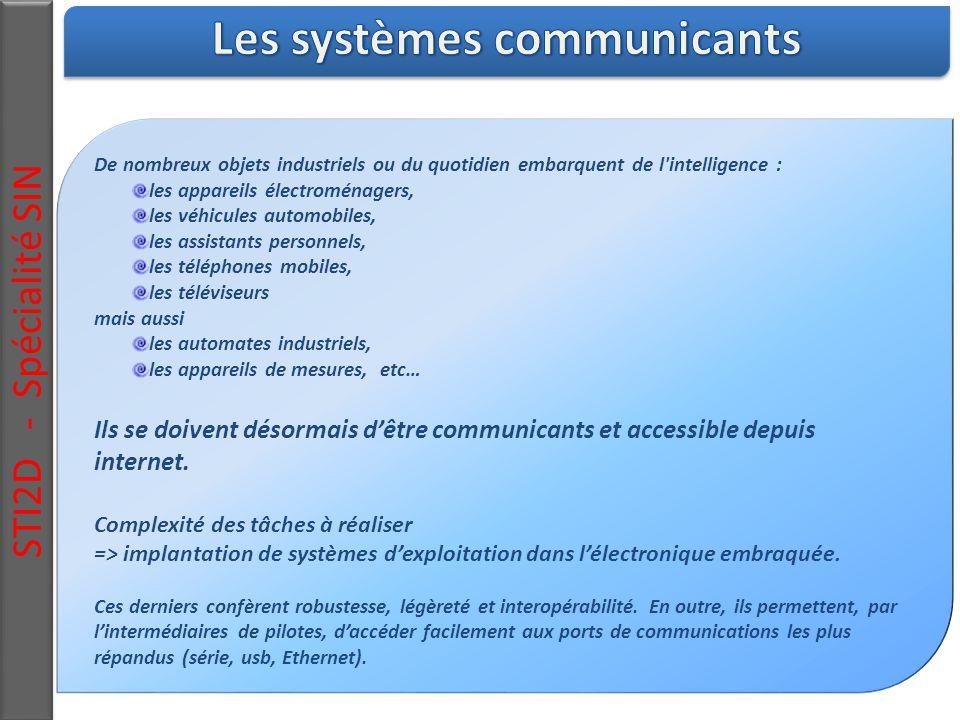 Les systèmes communicants