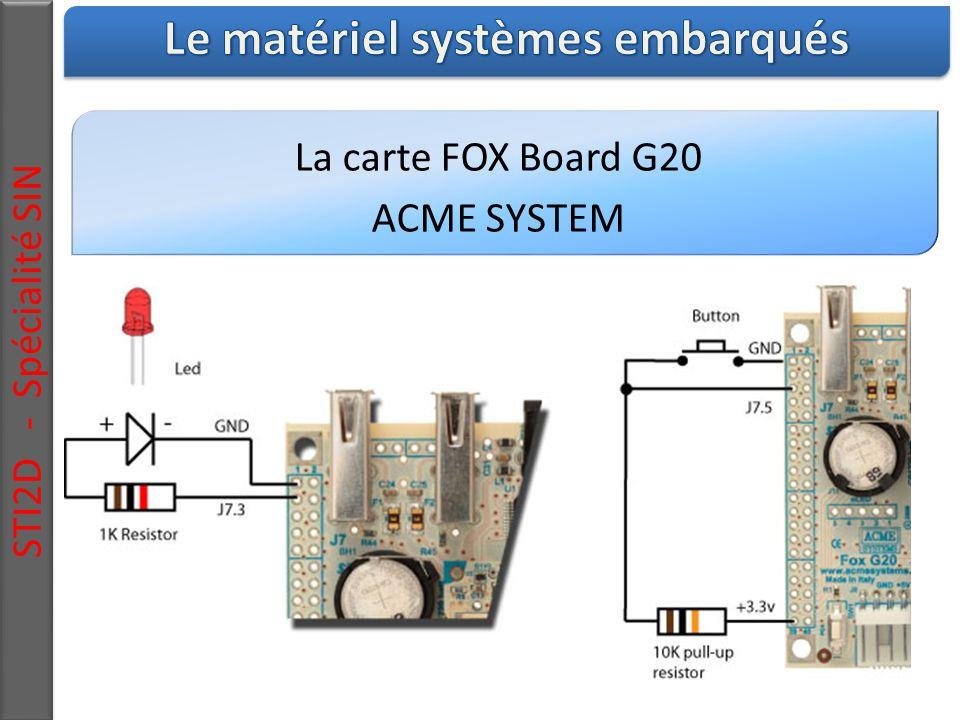 Le matériel systèmes embarqués