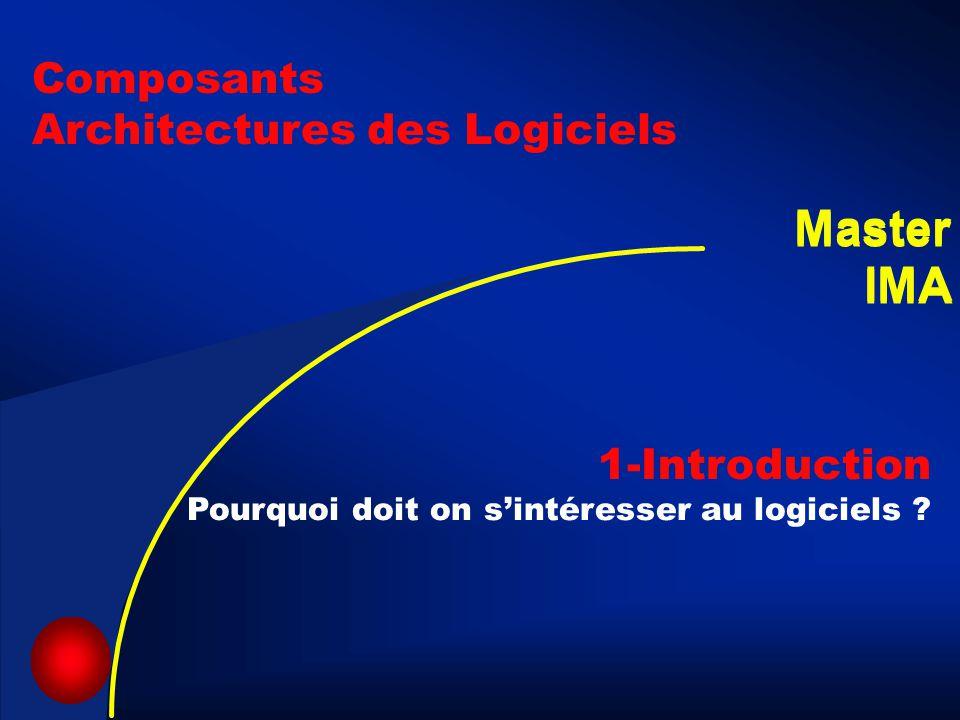 Master IMA Master IMA Composants Architectures des Logiciels