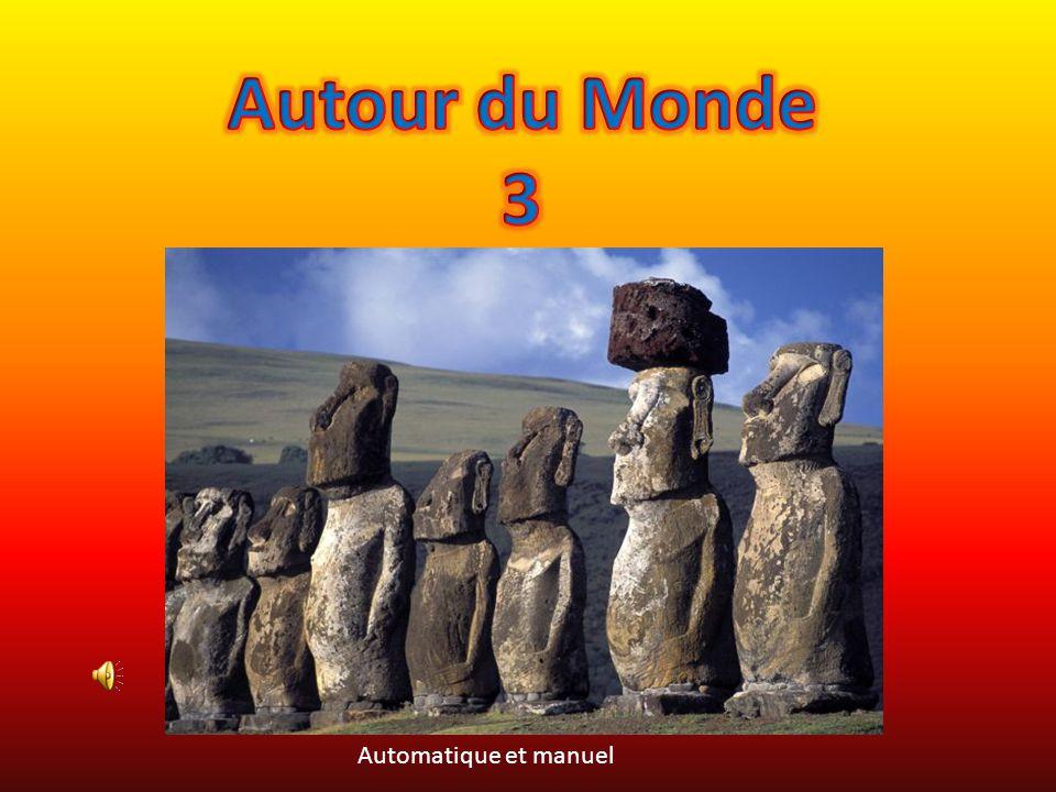 Autour du Monde 3 Automatique et manuel