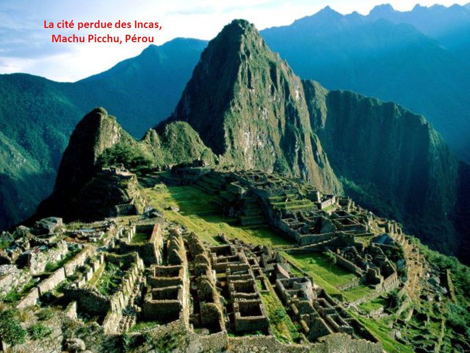 La cité perdue des Incas,