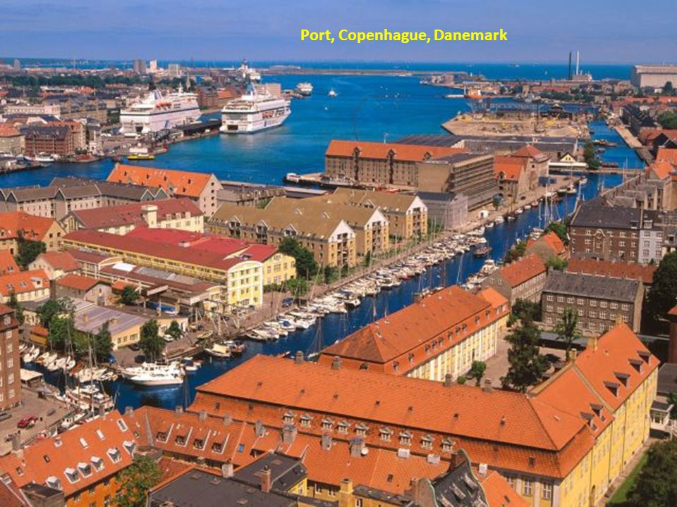 Port, Copenhague, Danemark