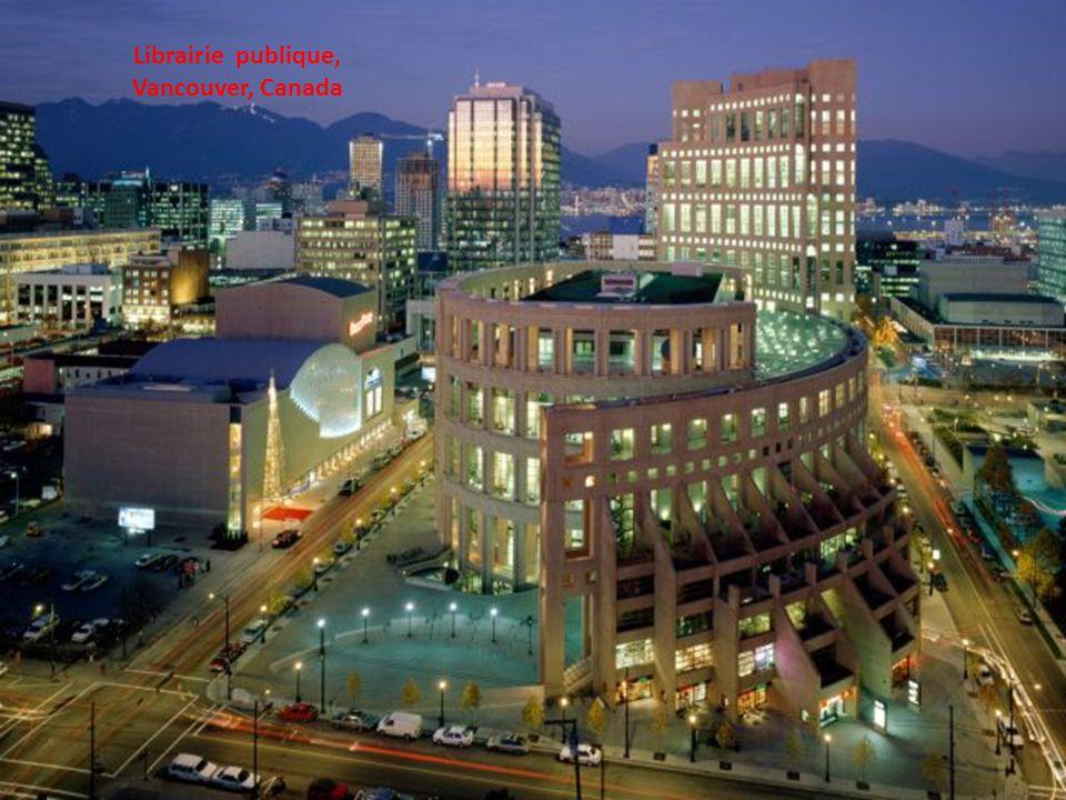 Librairie publique, Vancouver, Canada