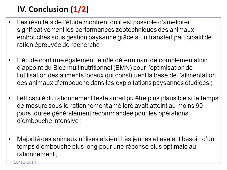 IV. Conclusion (1/2) 07/04/2017.