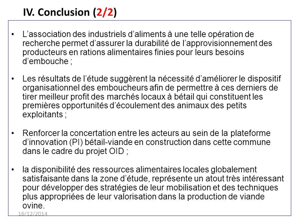 IV. Conclusion (2/2) 07/04/2017.