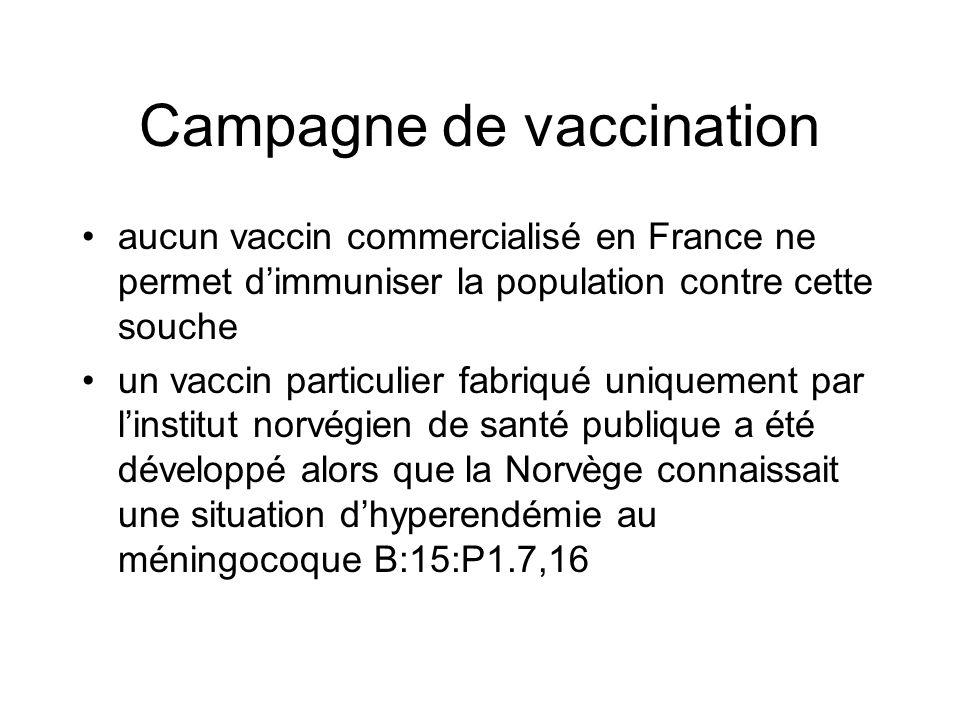 Campagne de vaccination