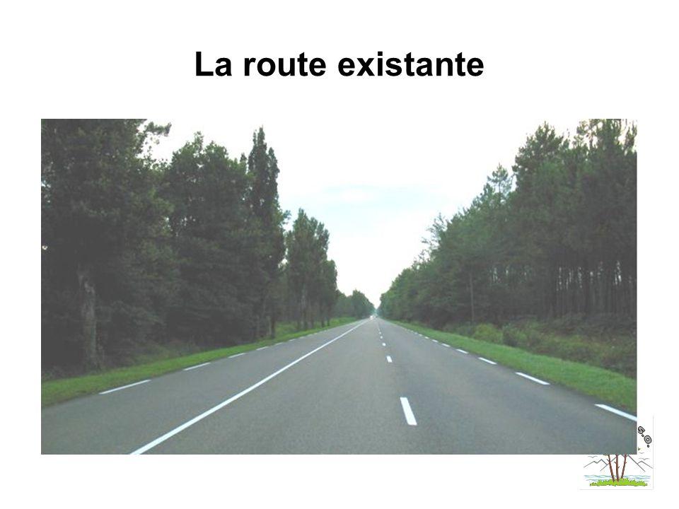 La route existante