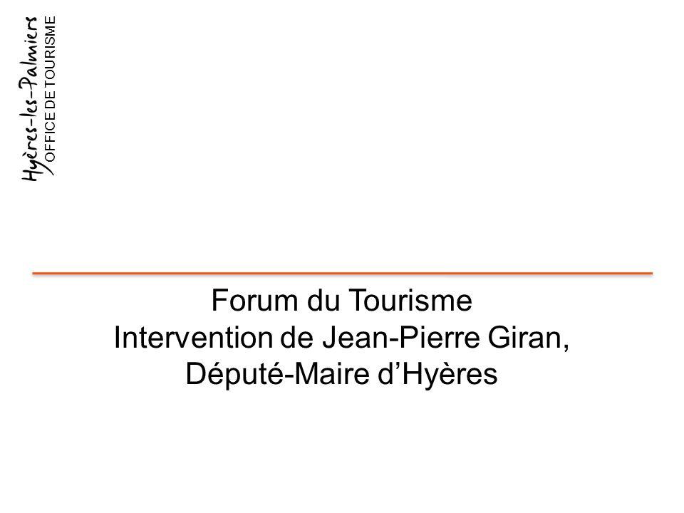 Intervention de Jean-Pierre Giran, Député-Maire d'Hyères