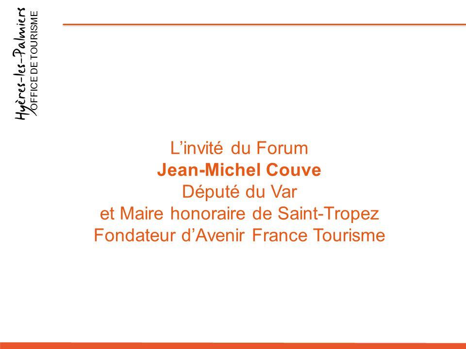 et Maire honoraire de Saint-Tropez Fondateur d'Avenir France Tourisme