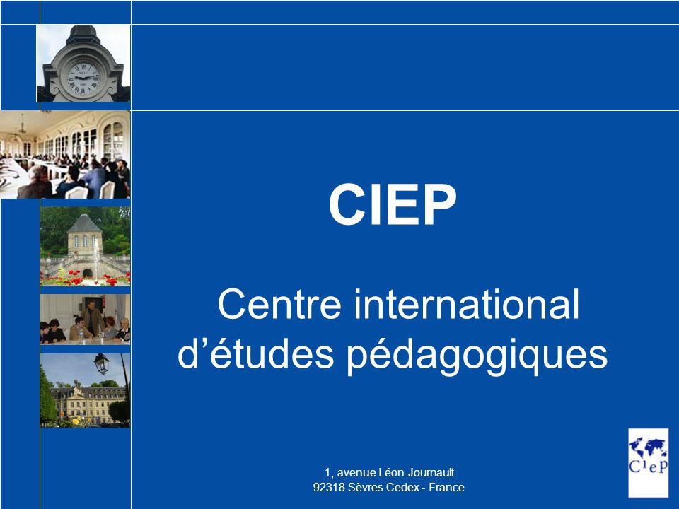 CIEP Centre international d'études pédagogiques