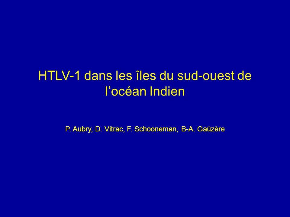 HTLV-1 dans les îles du sud-ouest de l'océan Indien