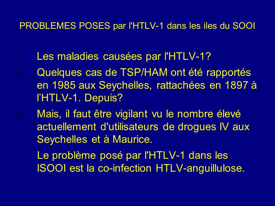 PROBLEMES POSES par l HTLV-1 dans les iles du SOOI