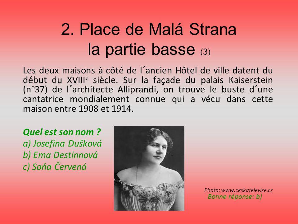 2. Place de Malá Strana la partie basse (3)