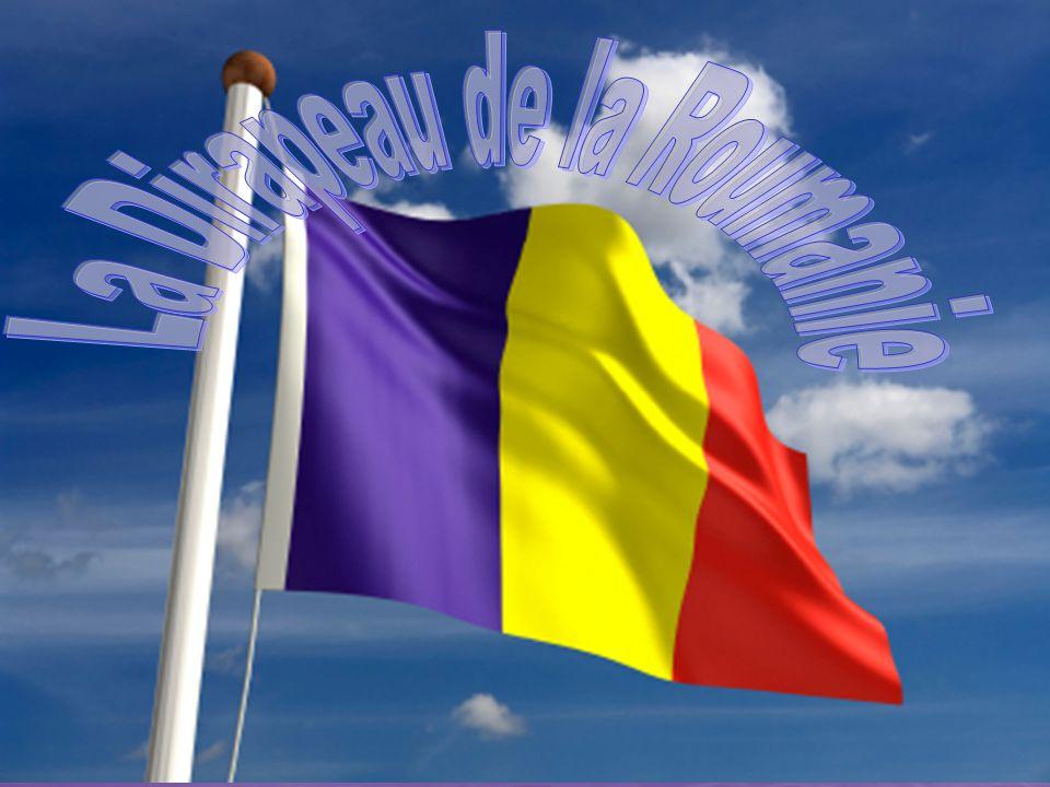 La Dirapeau de la Roumanie