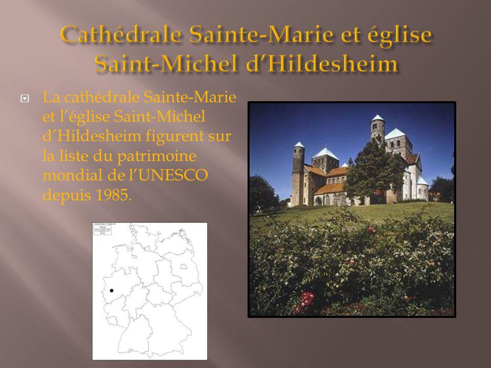Cathédrale Sainte-Marie et église Saint-Michel d'Hildesheim