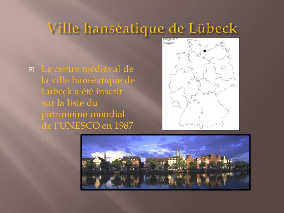 Ville hanséatique de Lübeck
