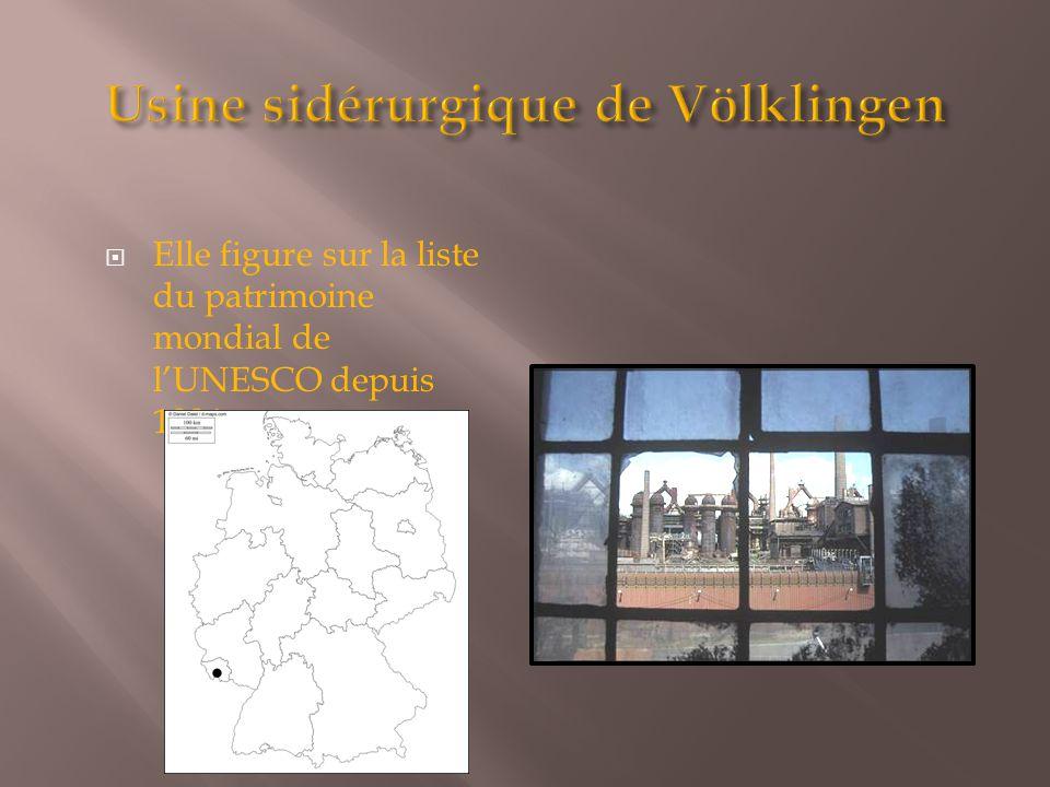 Usine sidérurgique de Völklingen