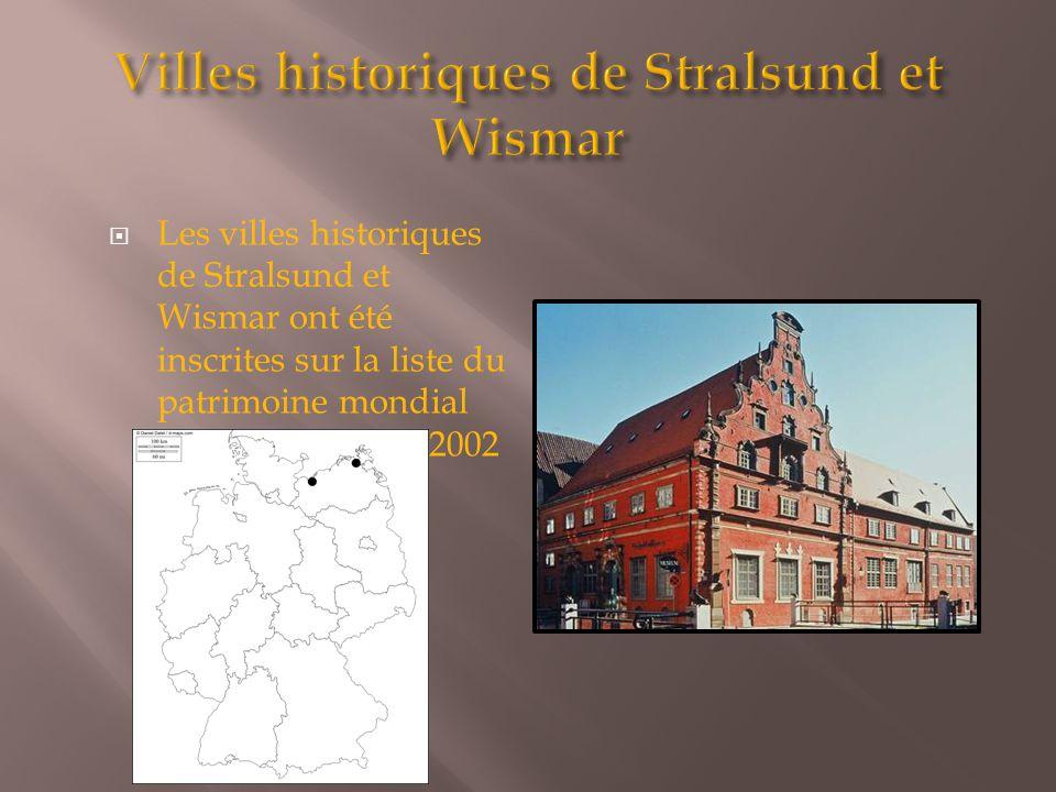 Villes historiques de Stralsund et Wismar
