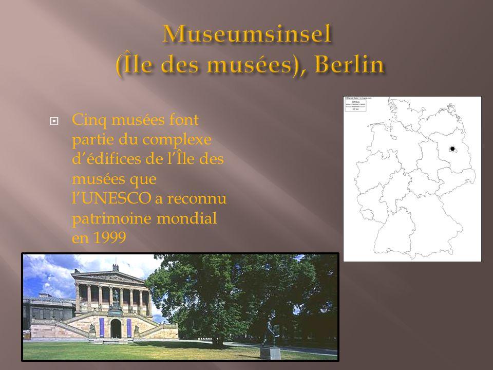 Museumsinsel (Île des musées), Berlin