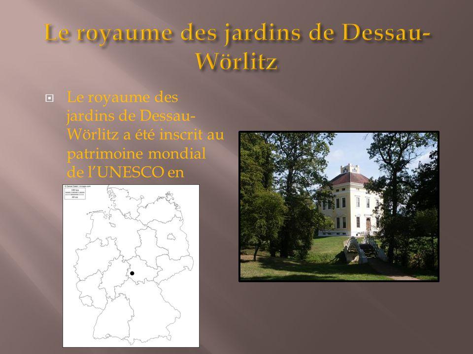 Le royaume des jardins de Dessau-Wörlitz