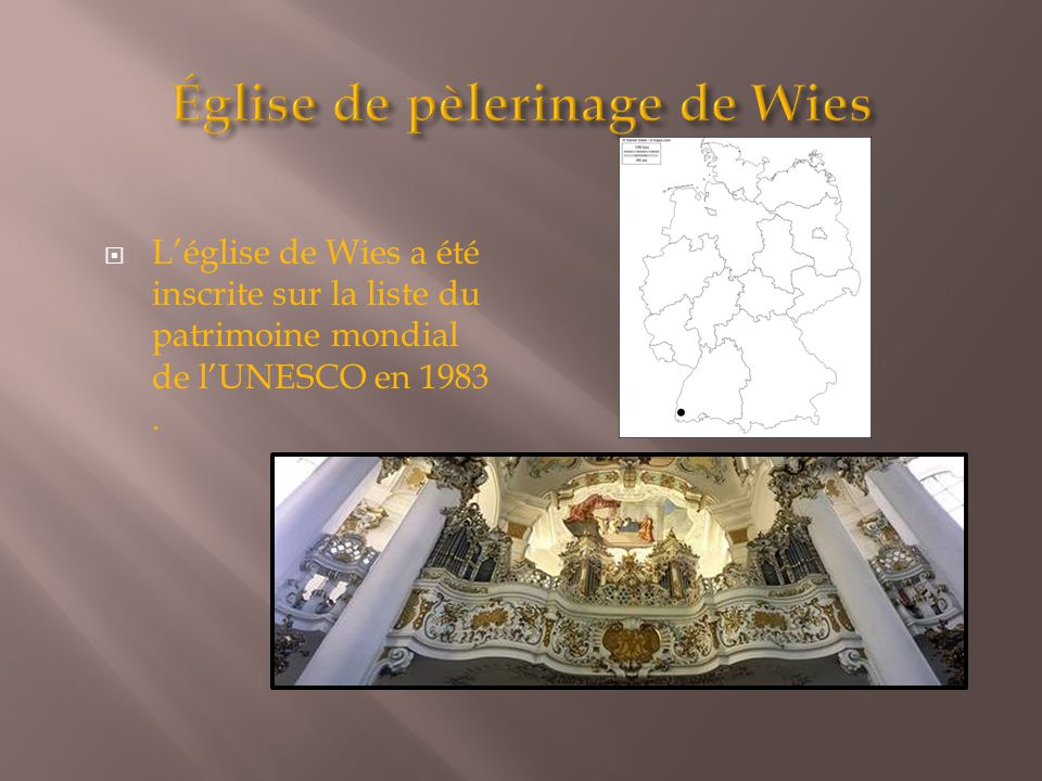 Église de pèlerinage de Wies