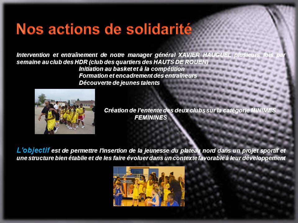 Nos actions de solidarité