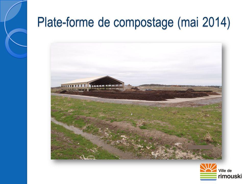 Plate-forme de compostage (mai 2014)