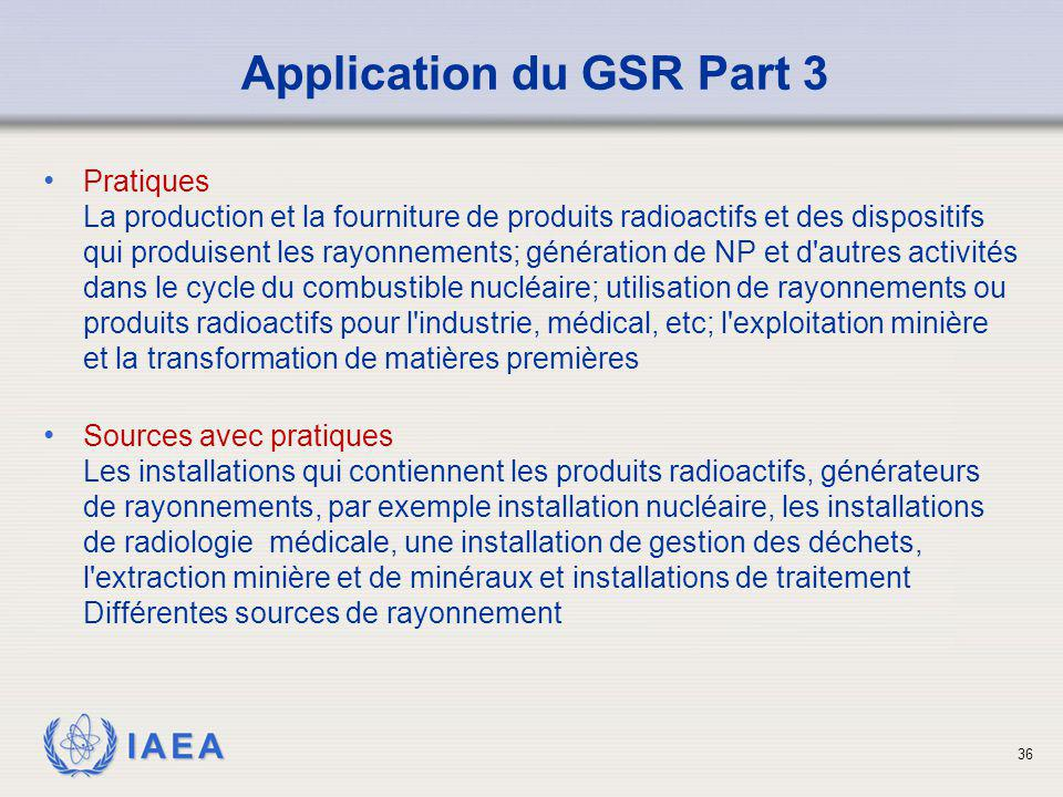 Application du GSR Part 3