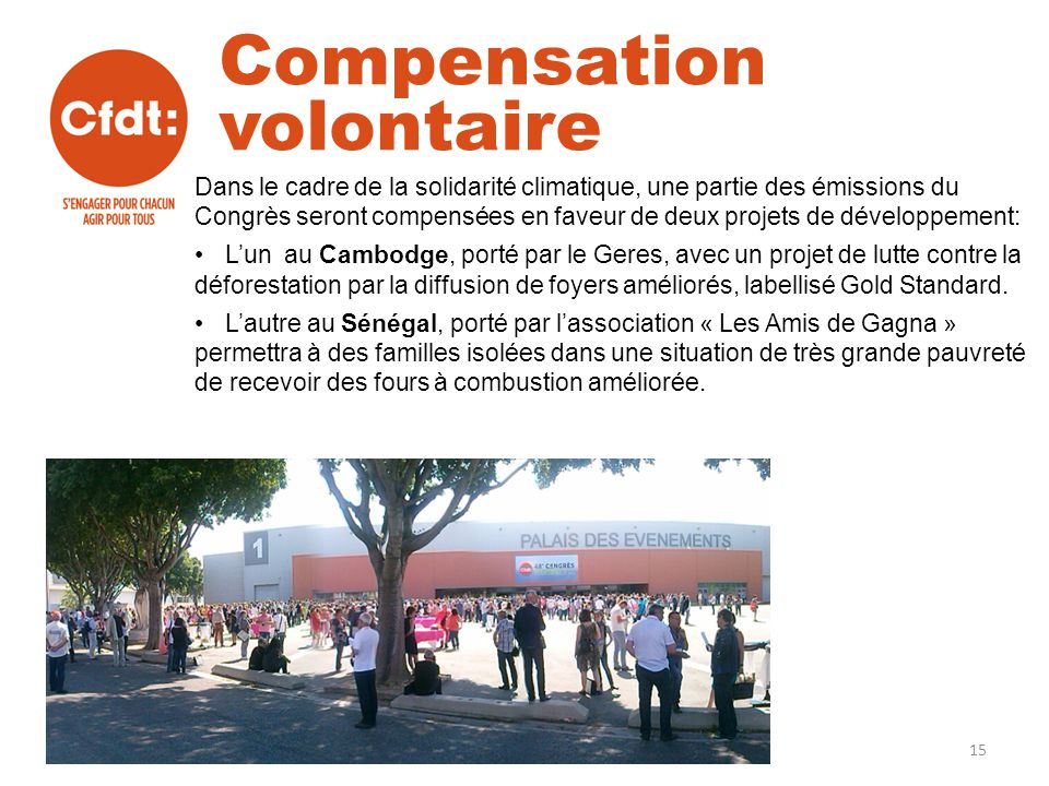 Compensation volontaire