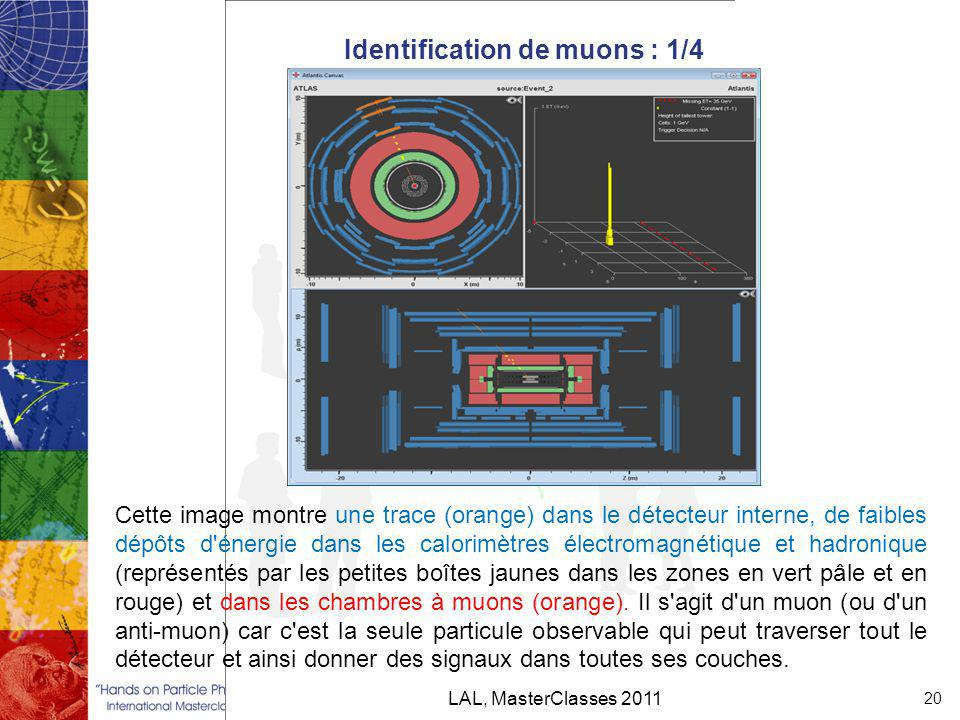 Identification de muons : 1/4