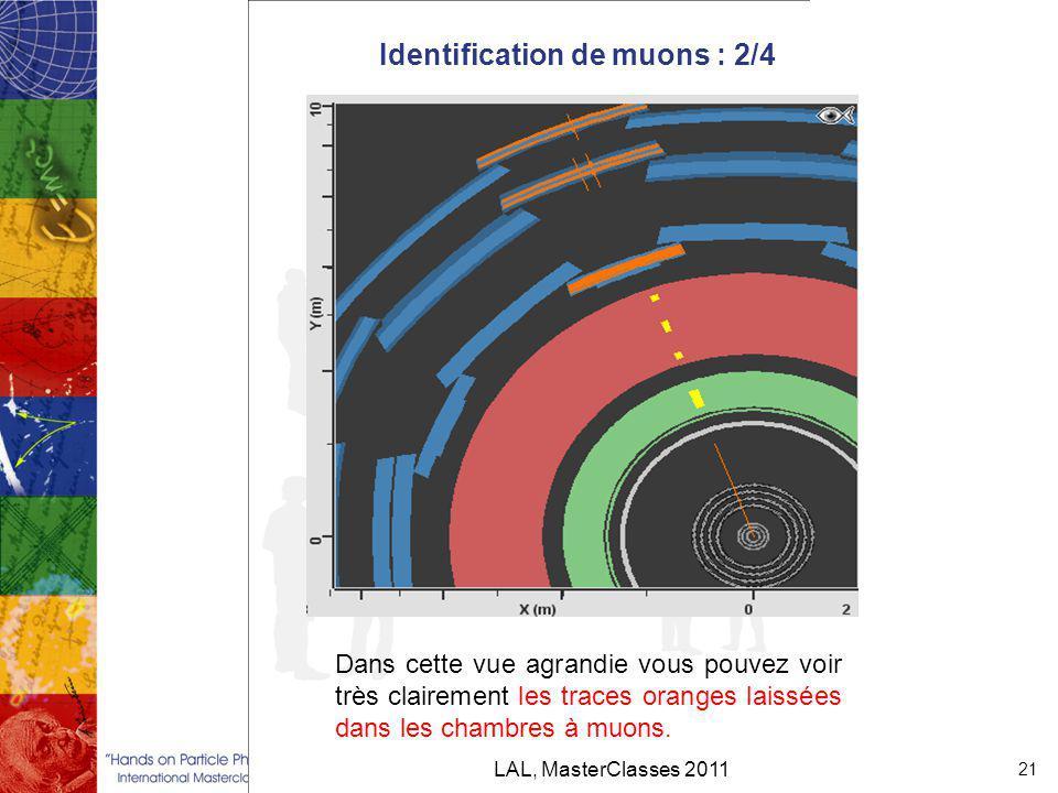 Identification de muons : 2/4