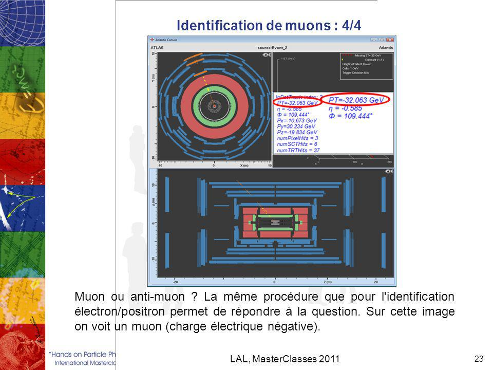 Identification de muons : 4/4