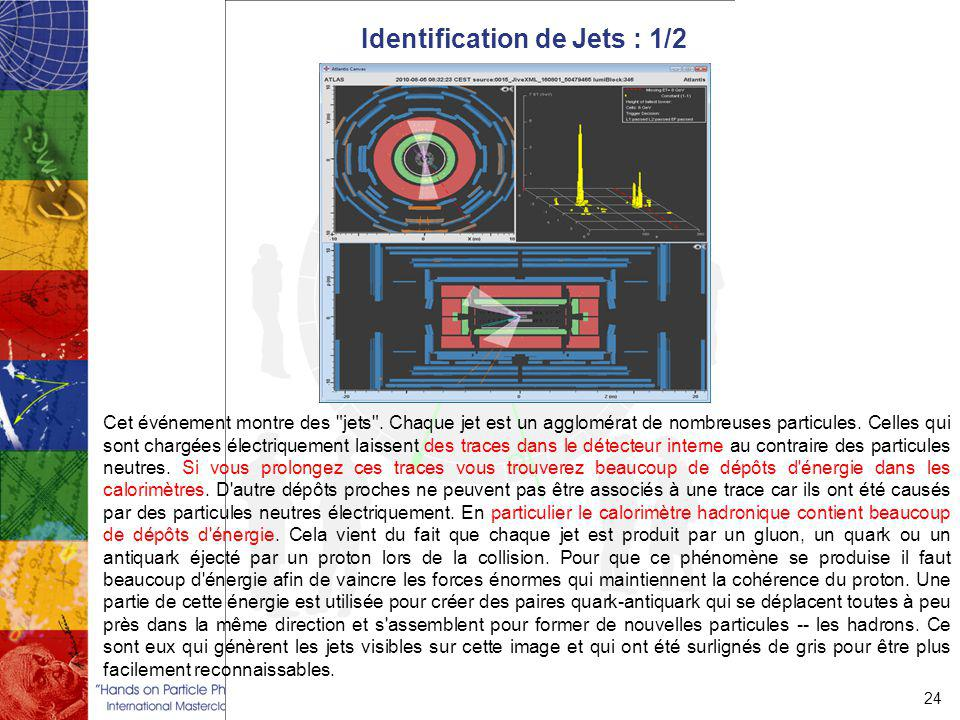 Identification de Jets : 1/2