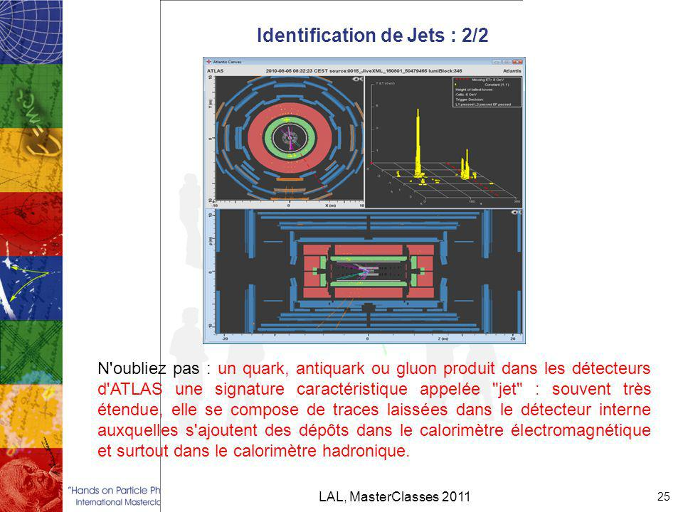 Identification de Jets : 2/2