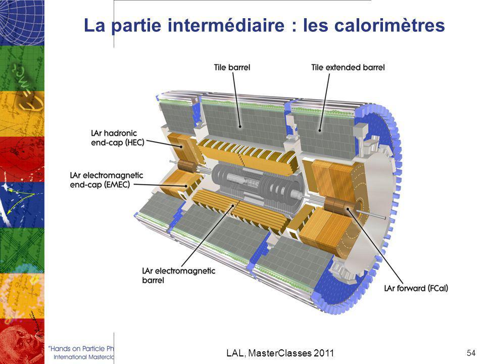La partie intermédiaire : les calorimètres