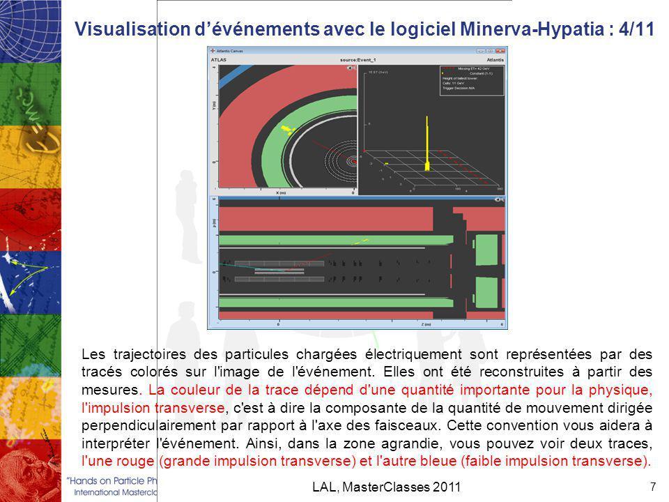 Visualisation d'événements avec le logiciel Minerva-Hypatia : 4/11