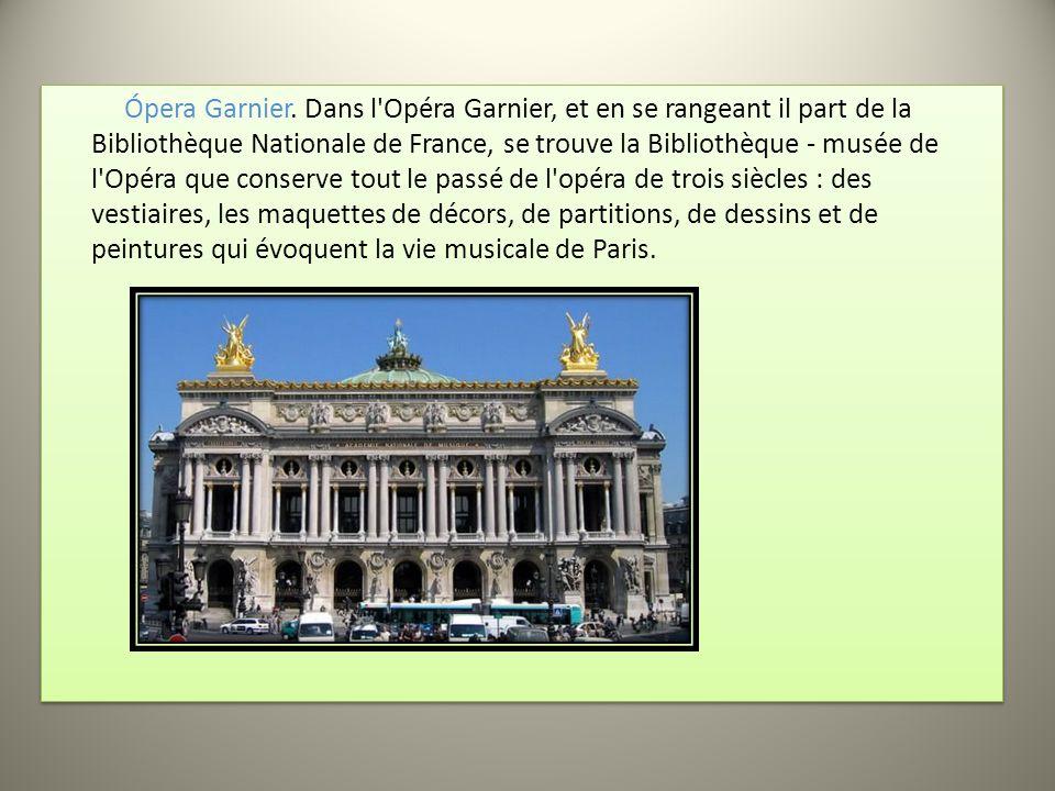 Ópera Garnier.