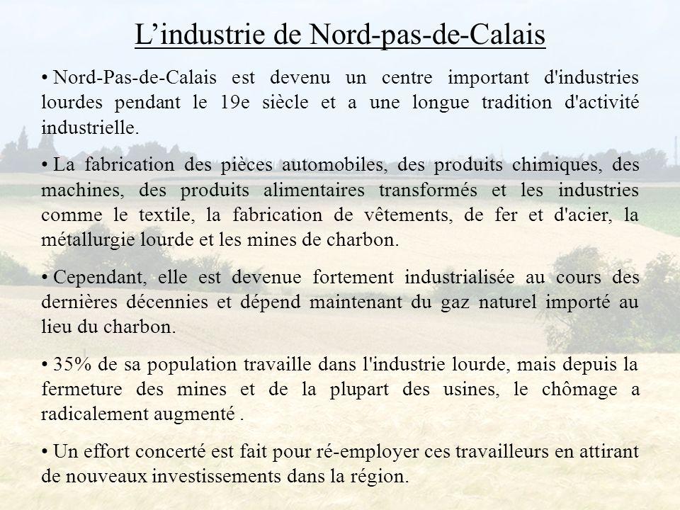 L'industrie de Nord-pas-de-Calais